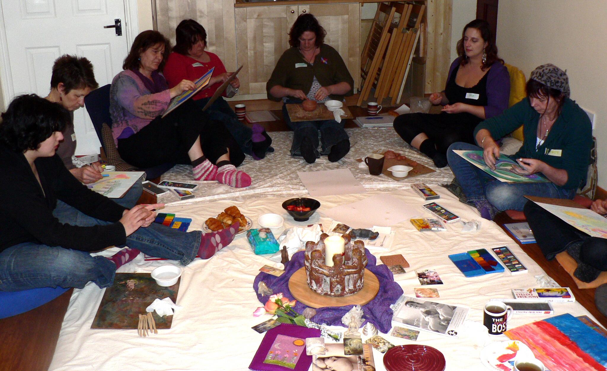 Birth Art Cafe Training