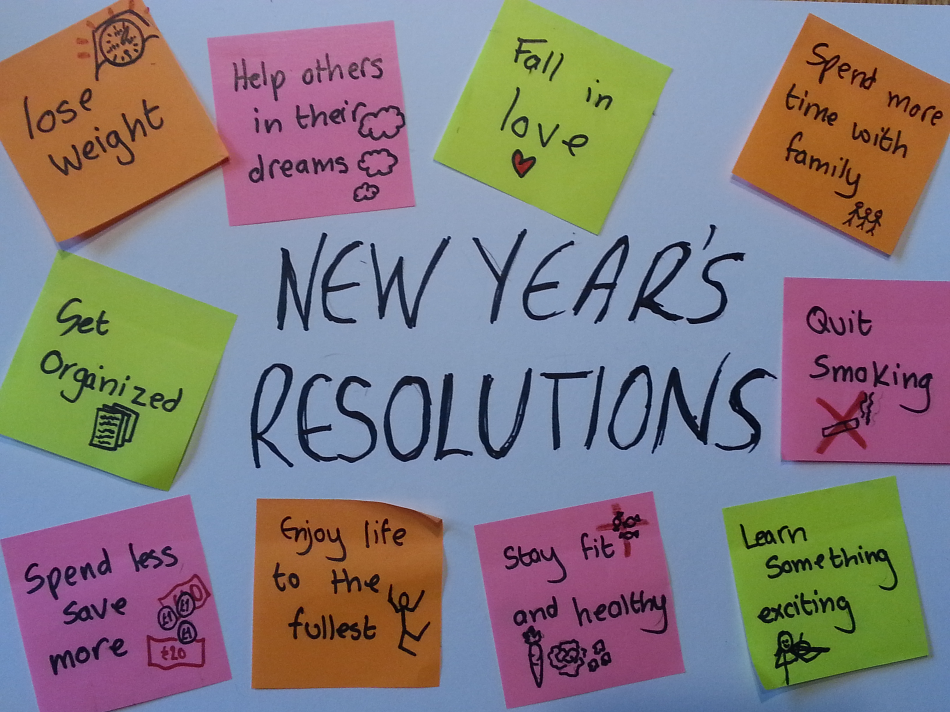 top 10 new years resolutions With 2018 coming up quickly, it's that time again to make a list of new year's resolutions but if you're wondering what the 10 most popular resolutions were from.