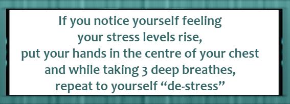 improve calm and de-stress